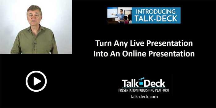 Introducing-Talk-Deck Online Presentations