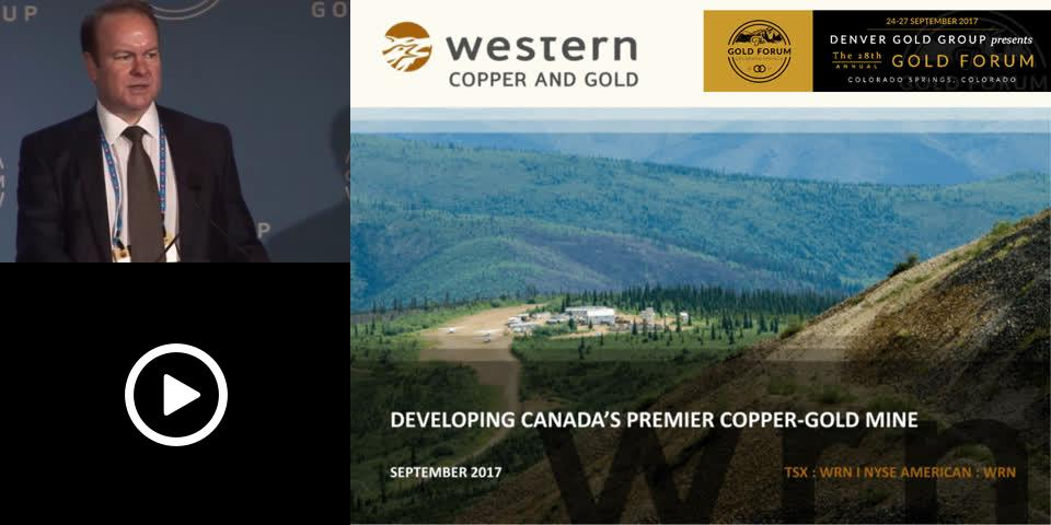 Tripicon - Western Copper & Gold Denver Gold Forum