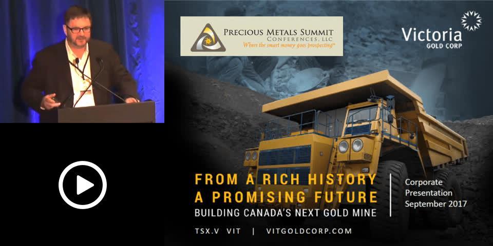 Tripicon - Victoria Gold - Precious Metals Summit