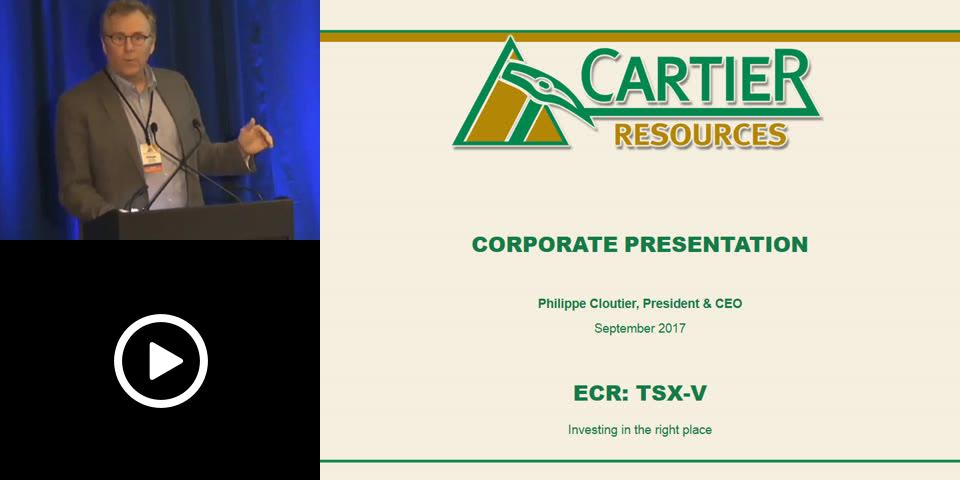 Tripicon - Cartier Resources - Exploring Where Discovery is a Tradition